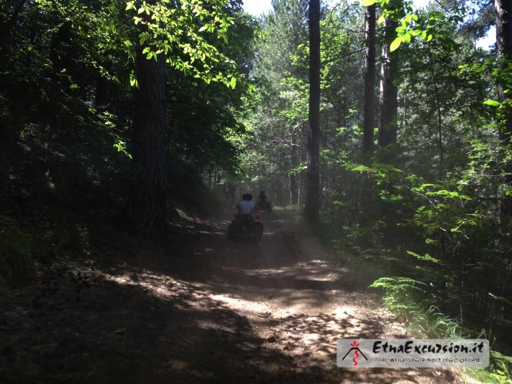 escursione in quad etna