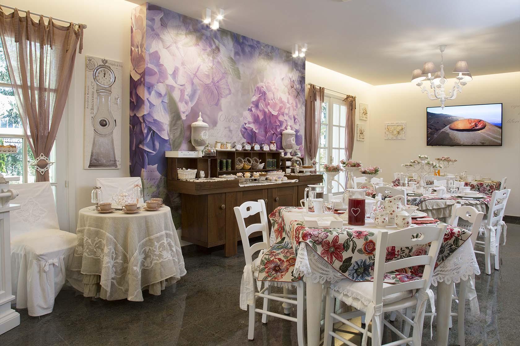 Sala colazione Blanc Maison