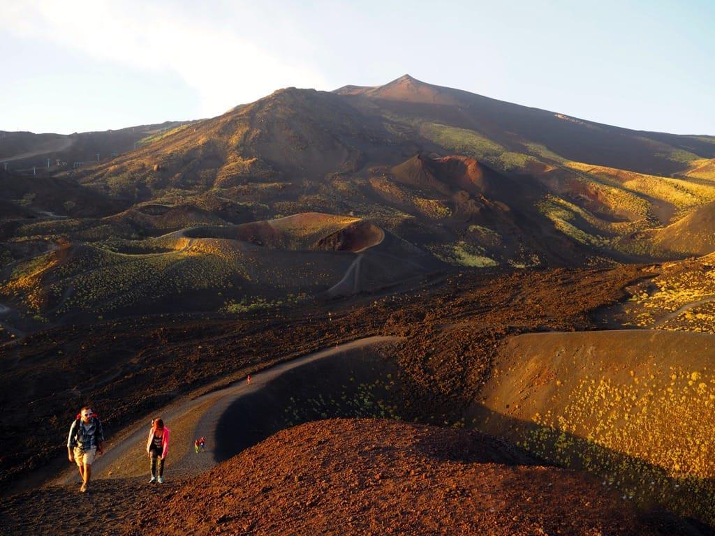 Etna Sunset 2